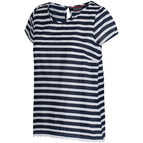 Regatta Jakayla t-shirt Dames, navy stripe